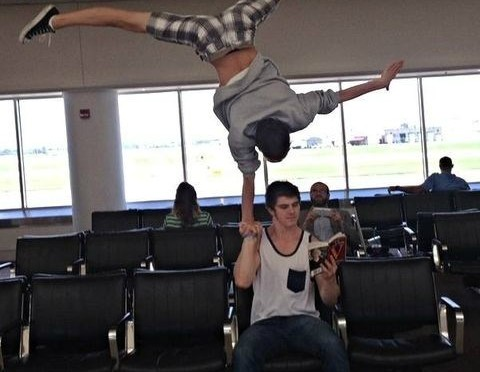 Truth or Dare (But It's Really Just Dare): Airport Edition